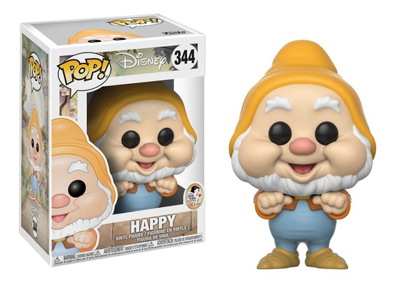 Funko Pop! Disney: Snow White - Happy (feliz) #344