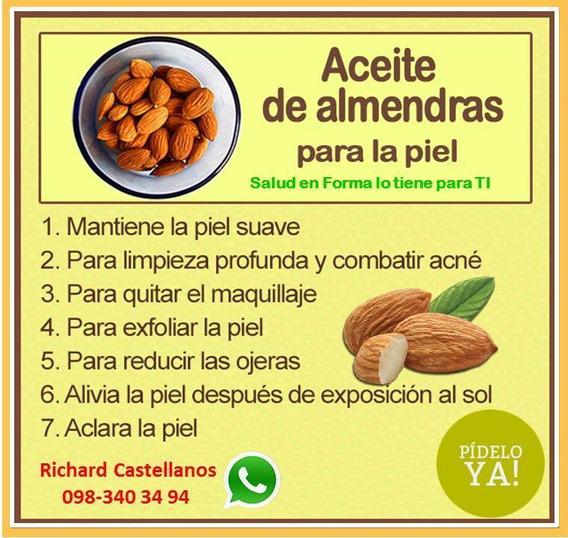 Salud Y Belleza - Aceite De Almendras