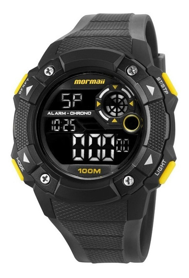 Relógio Masculino Mormaii Mocam1360ab/8y Digital Preto