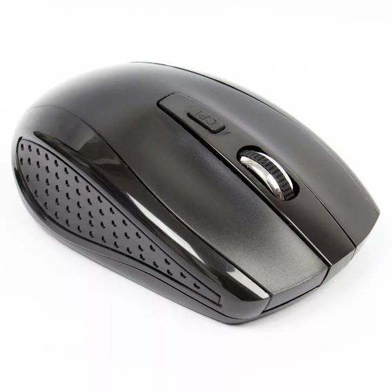 Mouse Wireless Pisc 2,4ghz 800dpi Preto 1856