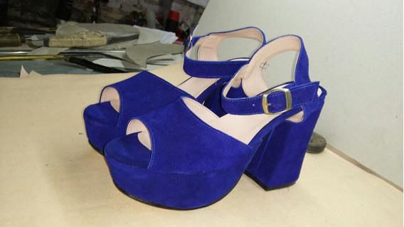 Calzadosjuzman Zapatos Mujer 100%cuero Nros Grandes Art175
