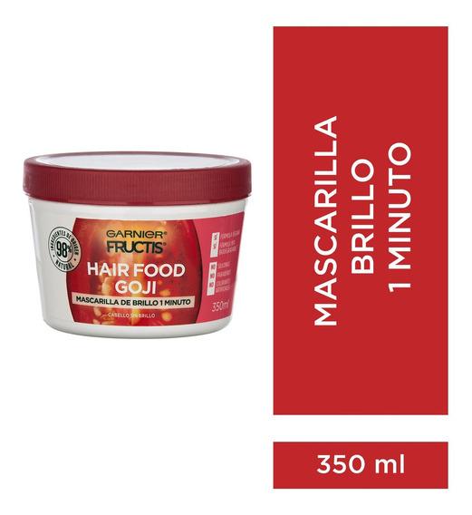 Fructis Hairfood Mascara De Brillo Cabello Opaco X 350 Ml