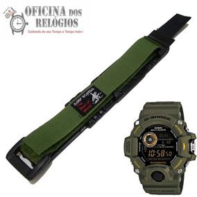 Pulseira P/ Relogio Casio Gw-9400 Verde Frete Grátis