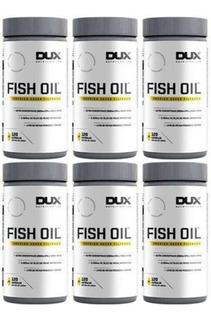 Kit 6x Ômega 3 Fish Oil Dux Nutrition