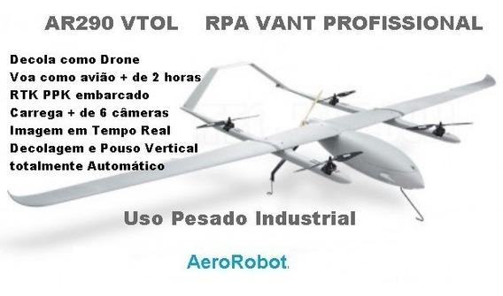 Vant Vtol Profissional Rtk L1 L2 Decola E Pousa Como Drone