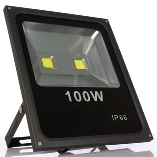 Reflector Led Blanco 100w Led Alta Potencia Ext Ip66 Canchas