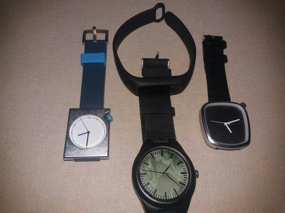Combo Chinês: Mi Band 2 E 3 Lindos Relógios
