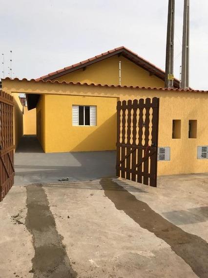 Casa Em Jardim Magalhães, Itanhaém/sp De 50m² 2 Quartos À Venda Por R$ 160.000,00 - Ca232609