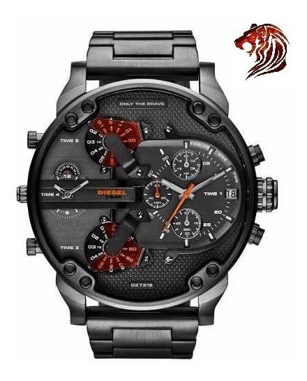 Reloj Diesel Dz7315 Mr. Daddy 2.0 57mm Original Nuevo