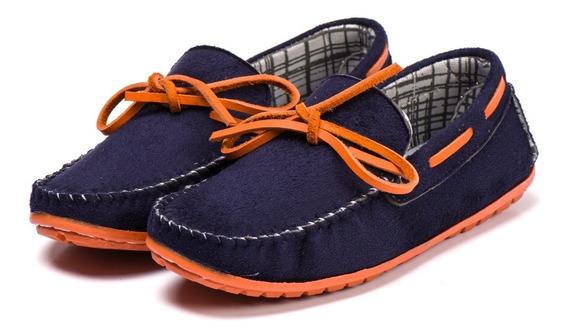 Sapato Mocassim Infantil / De Criança Masculino Lindo Mem