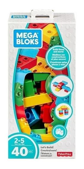 Legos Mega Bloques Fisher Price Juguete Niño 40 Piezas
