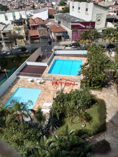 Apartamento Com 2 Dormitórios À Venda, 60 M² Por R$ 320.000,00 - Vila Granada - São Paulo/sp - Ap1866