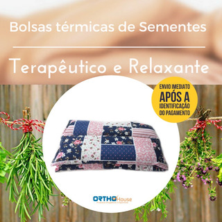 Bolsa Térmica De Sementes Terapêuticas