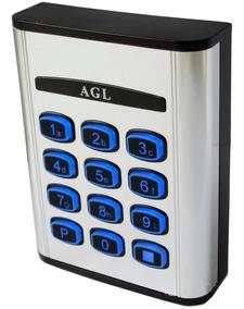 Teclado Controle De Acesso Com 25 Senhas Agl +fonte + Nota