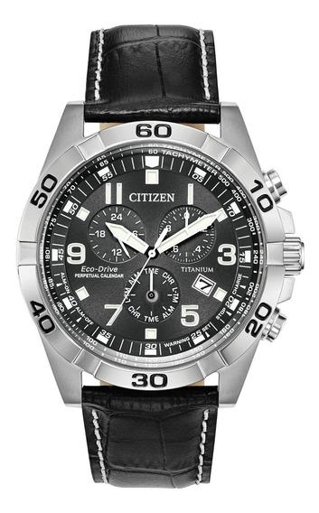 Relógio Masculino Citizen Bl5551-14h Couro