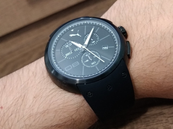 Relógio Puma Hero - L - Preto