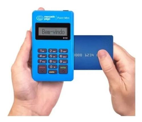 Imagem 1 de 7 de Máquina De Cartão Débito E Crédito Point Mini - Mercado Pago