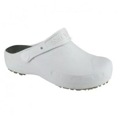 Sapato Soft Works Profissional Branco Bb60