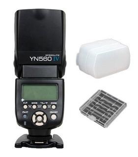 Flash Yongnuo | Yn560 Iv | Para Canon, Nikon, Sony | Regalos