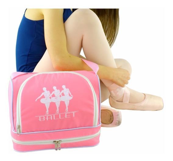 Bolsa Para Ballet Rosa Grande