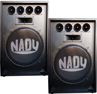 Kit 2 Bafle Nady 15 Pasivo N15 Caja Acustica 300watts 3 Vias