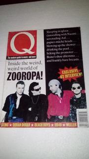 U2 Bono Antigua Revista Q Septiembre 1993 Inglaterra