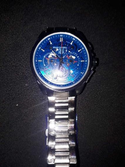 Relógio Tag Reuer Grand Carrera Ls Azul Lindo!!! Top