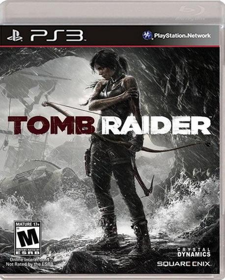Tomb Raider Ps3 Playstation 3 Nuevo Sellado Juego Videojuego