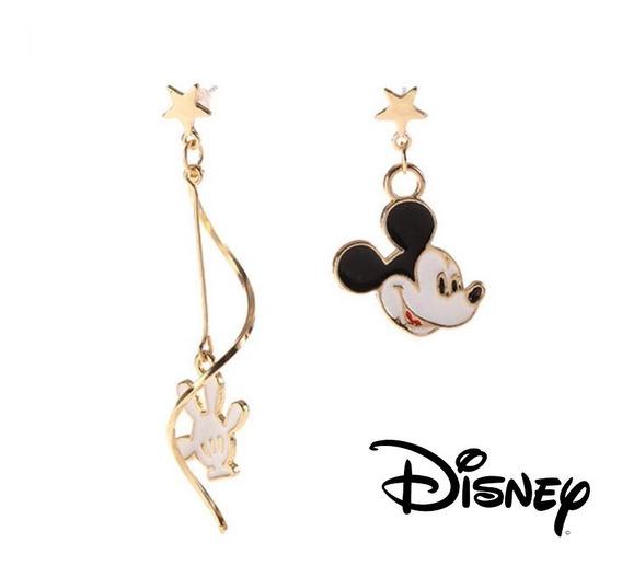 Mickey Mouse Aretes Disney Envio Gratis