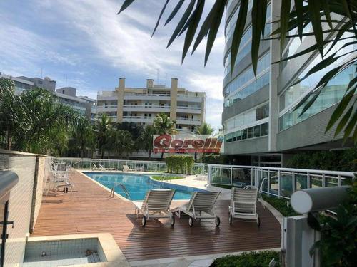 Apartamento Com 4 Dormitórios À Venda, 124 M² Por R$ 2.300.000,00 - Riviera De São Lourenço - Bertioga/sp - Ap0547