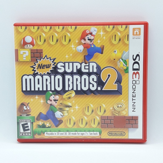 New Super Mario Bros 2 Nintendo 3ds Midia Fisica Game Jogo