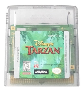 Disney Tarzan Cartucho Original Para Game Boy Color Gbc 1999