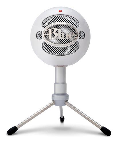 Micrófono Blue Snowball Series Snowball Ice condensador cardioide blanco