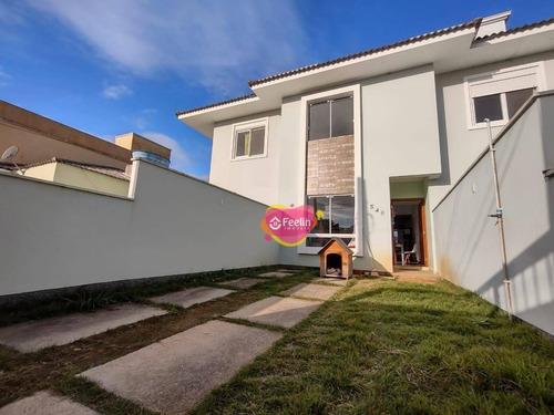 Imagem 1 de 30 de Casa Com 3 Dormitórios À Venda, 123 M² Por R$ 610.000,00 - Ribeirão Da Ilha - Florianópolis/sc - Sc - Ca0011_feelin