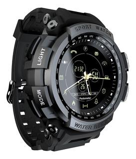 Reloj Inteligente Lokmat Mk28 Deportivo Negro Para Hombre.