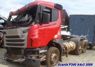 Sucata Pra Retirada De Peças Scania P340 A 4x2 Ano 2008