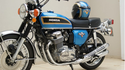 Cb 750k. Cb750 1976. K6.