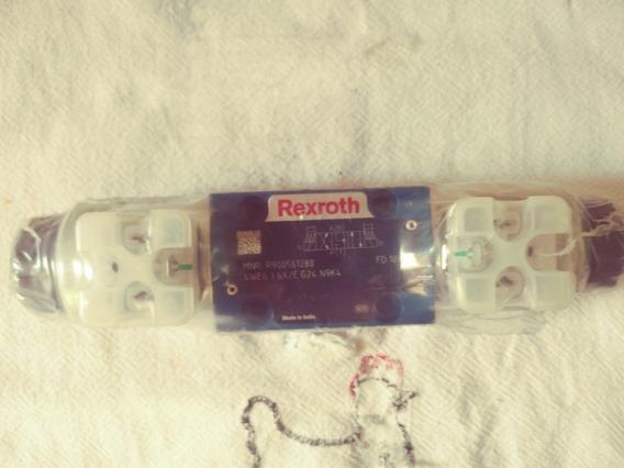 Válvula Rexroht 4we6 J 6x/e G24 N9k4 Nova. Nr900561288