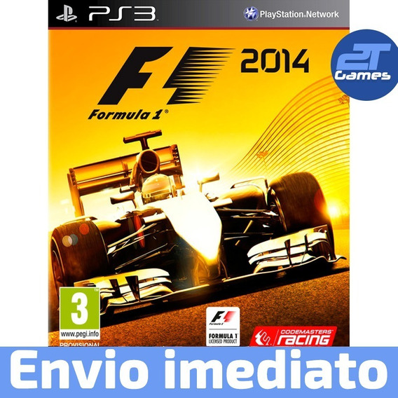 F1 2014 Ps3 Psn Inglês Jogo Envio Imediato