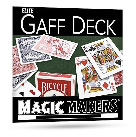Magic Makers The Blue Gaff Deck - Más De 40 Trucos De Magia