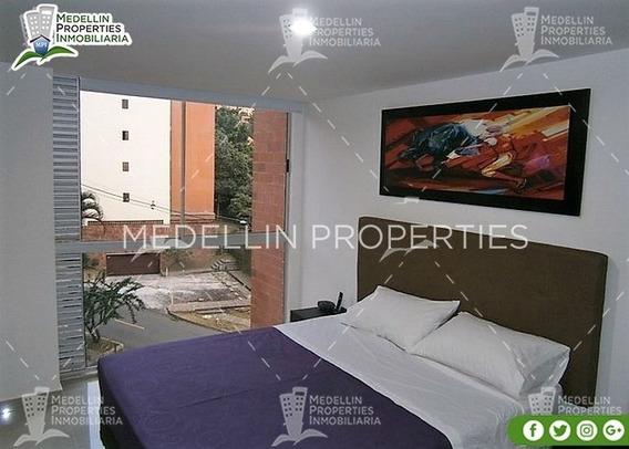 Alquiler De Apartamentos Amoblados En Medellín Cód: 4620