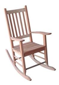 Cadeira De Balanço Madeira Maciça Varanda Área Lazer Sacada