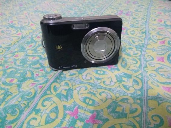 Câmera Digital Ge A830 Preta Usada
