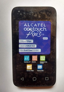 Celular Alcatel Pixi 3 4009a Negro Para Refacciones