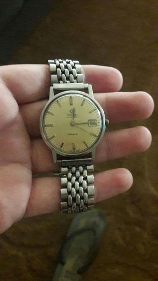 Relógio Omega Genève Automatic Com Calendário. Relíquia.