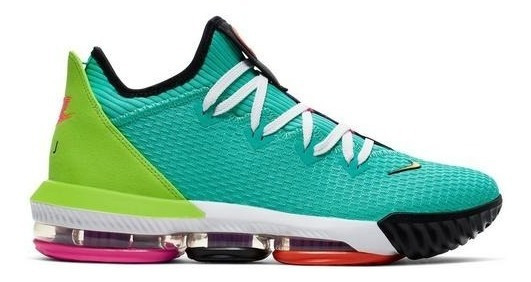 Nike Lebron 16 Low Jade Ci2668-301 Importación Mariscal