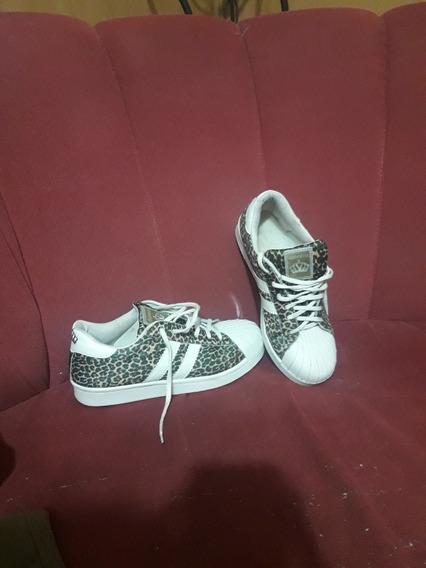 Zapatillas De Leopardo