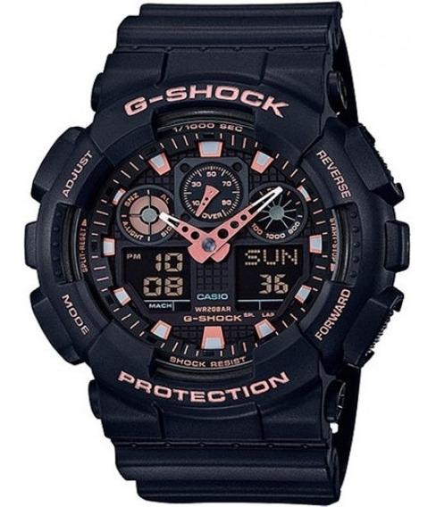Promoção Relógio Casio G-shock Ga-100gbx-1a4dr Original