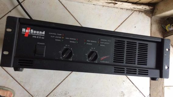 Amplificador Hotsound Hs 2.0 Sx