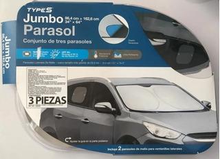 Parasol Kit 3 Piezas Tamaño Jumbo Types, Ac